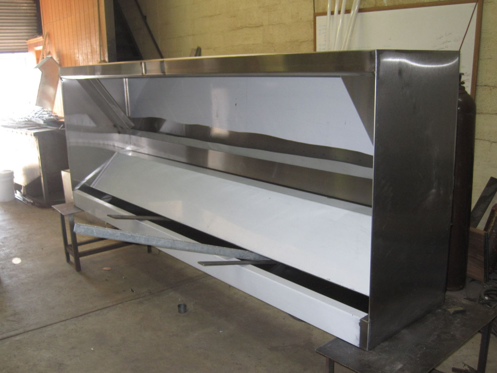 Commercial Kitchen Hood Installations - Cleaning Services